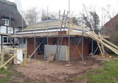 House-scaffold
